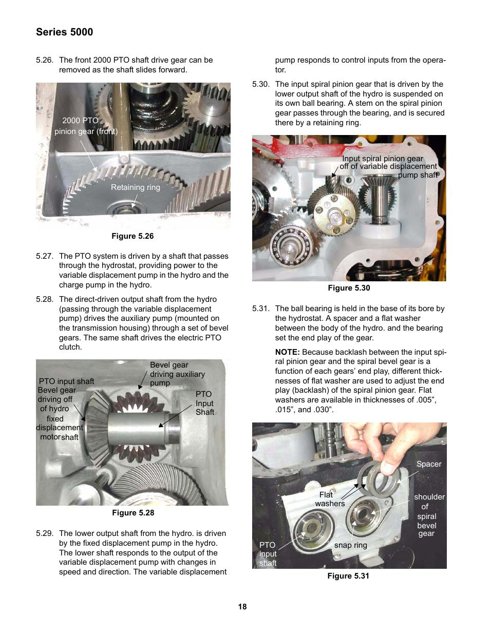 Series 5000 | Cub Cadet 5000 Series User Manual | Page 22 / 28