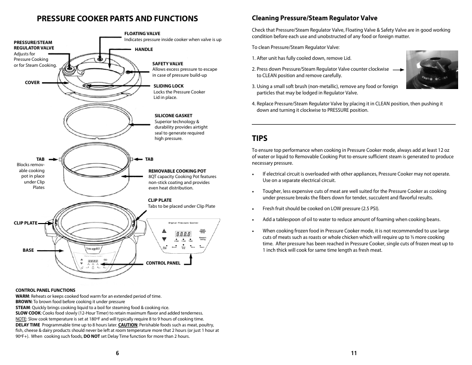 pressure cooker parts and functions tips cleaning pressure steam rh manualsdir com pressure cooker manual cook's essentials pressure cooker manual pdf