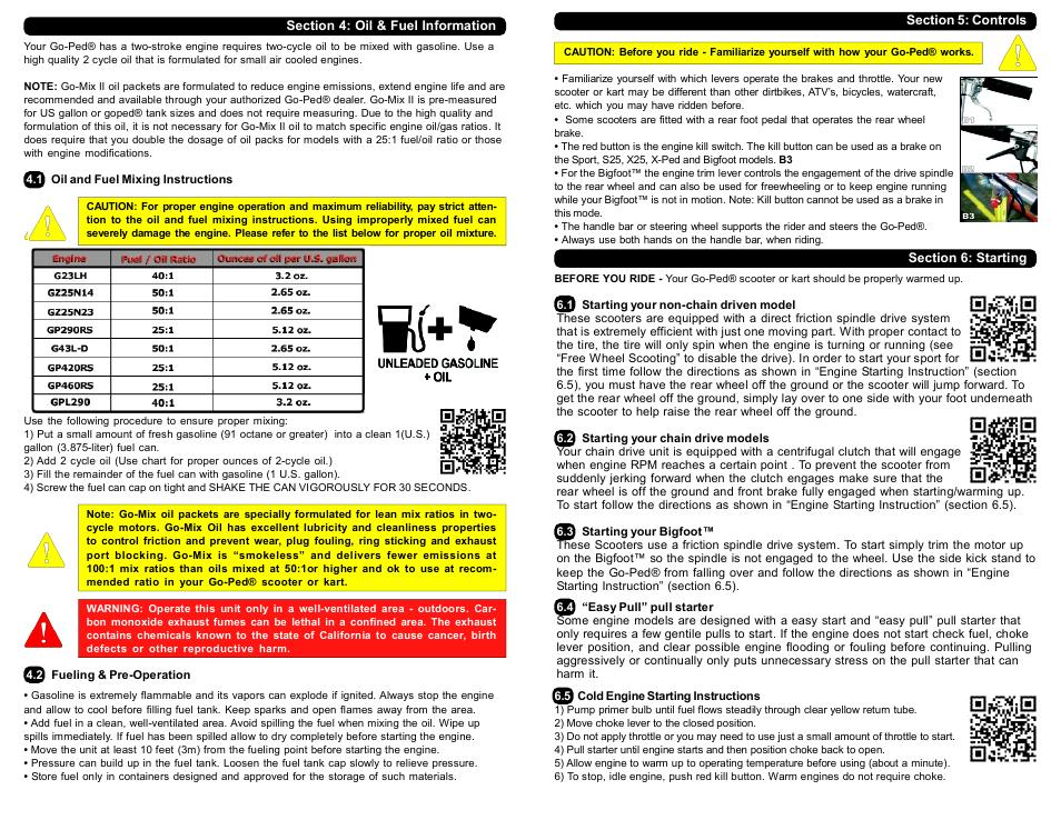go ped manual online user manual u2022 rh pandadigital co Moped Repair Manuals Husqvarna Chainsaw Repair Manual