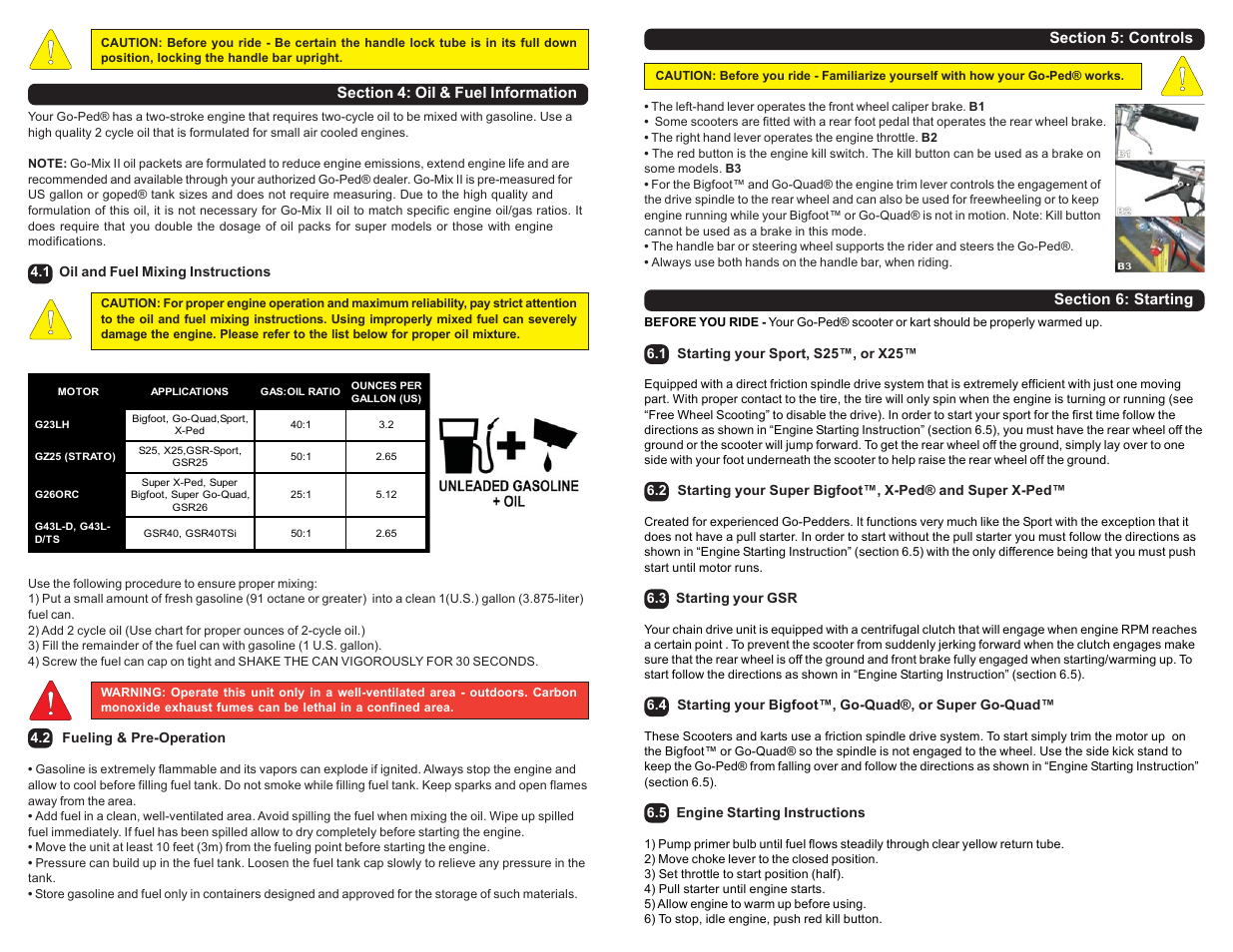Go-Ped Know-Ped User Manual   Page 10 / 10   Also for: Grow-Ped