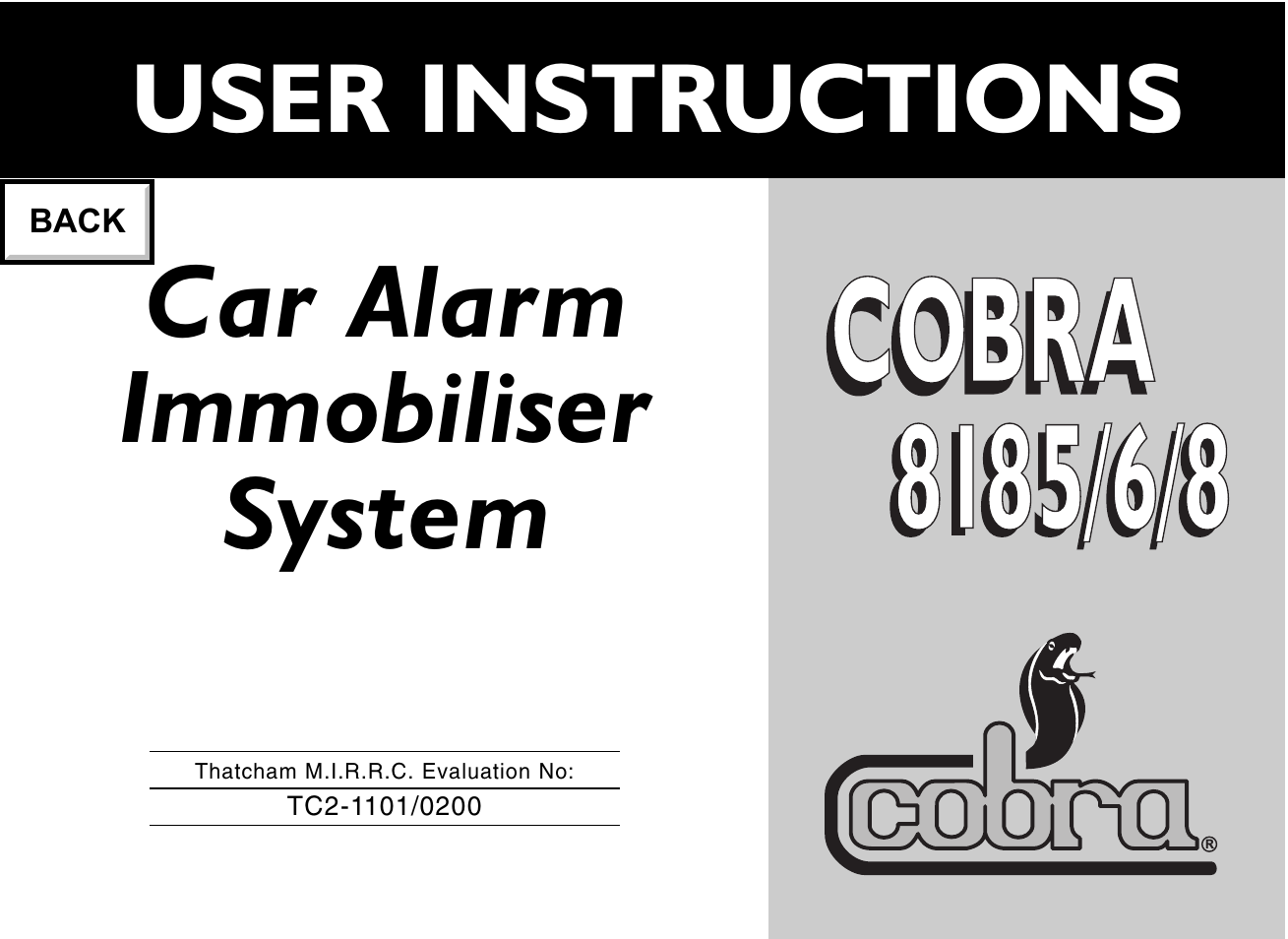cobra electronics 8185 page1 flashpoint car alarm wiring diagram \u2022 indy500 co flashpoint car alarm wiring diagram at n-0.co