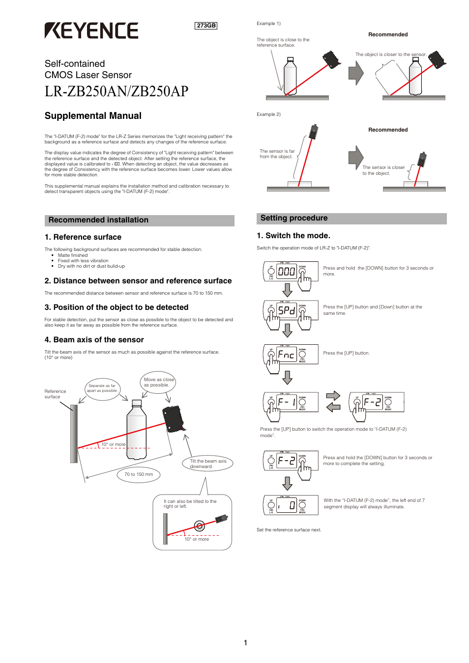 keyence lr zb250ap manual pdf