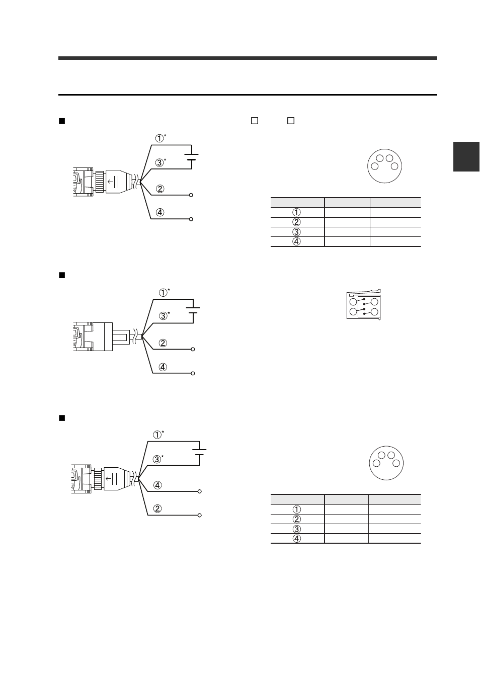 wiring diagrams for m8 e con connector types keyence fs. Black Bedroom Furniture Sets. Home Design Ideas