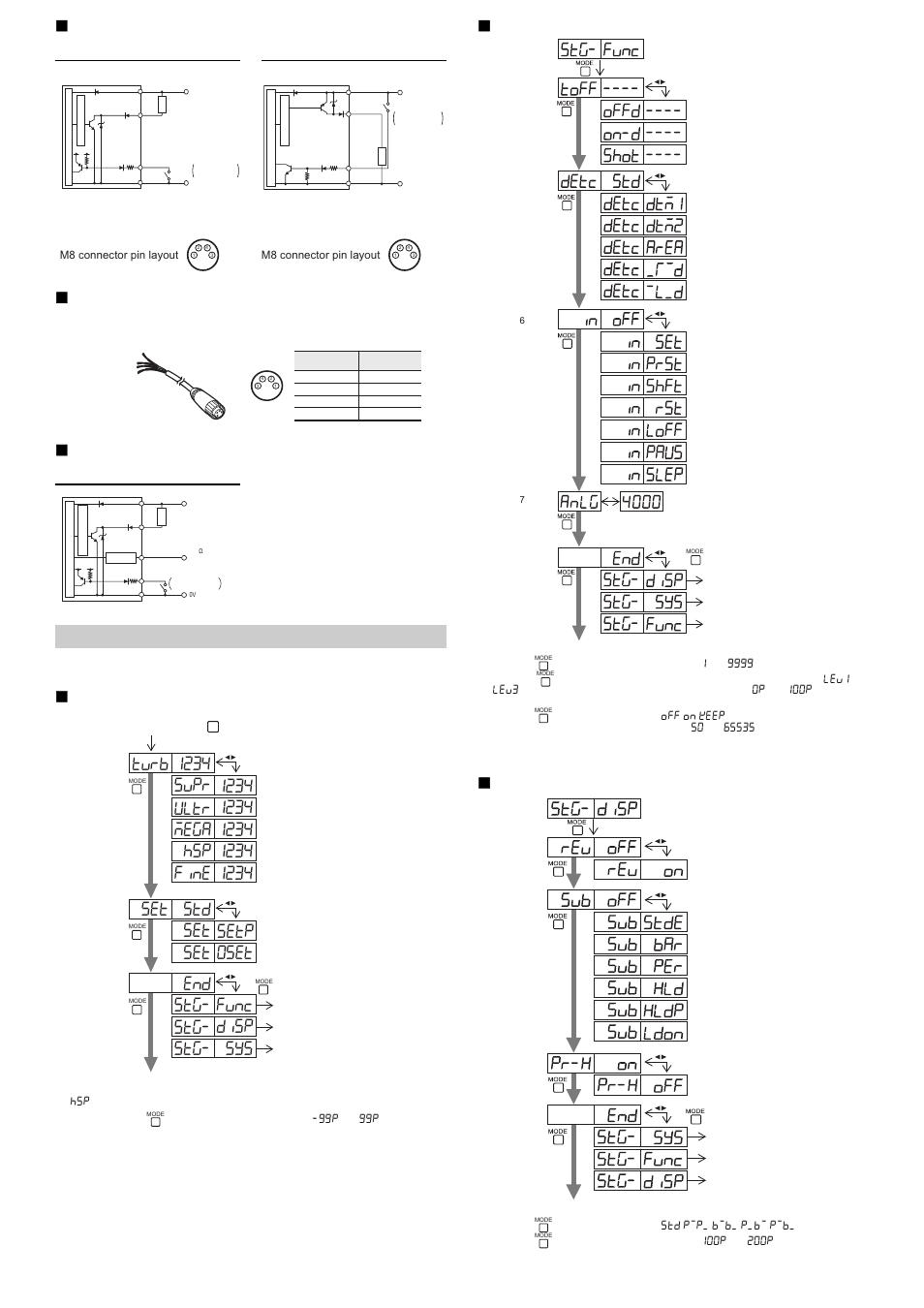 M8 Connector Type Lv N11cn N12cn N11cp N12cp Keyence Wiring Diagram N10 Series User Manual Page 8 12