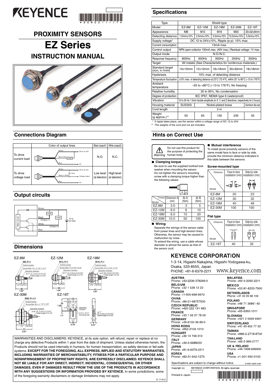 keyence ez series user manual