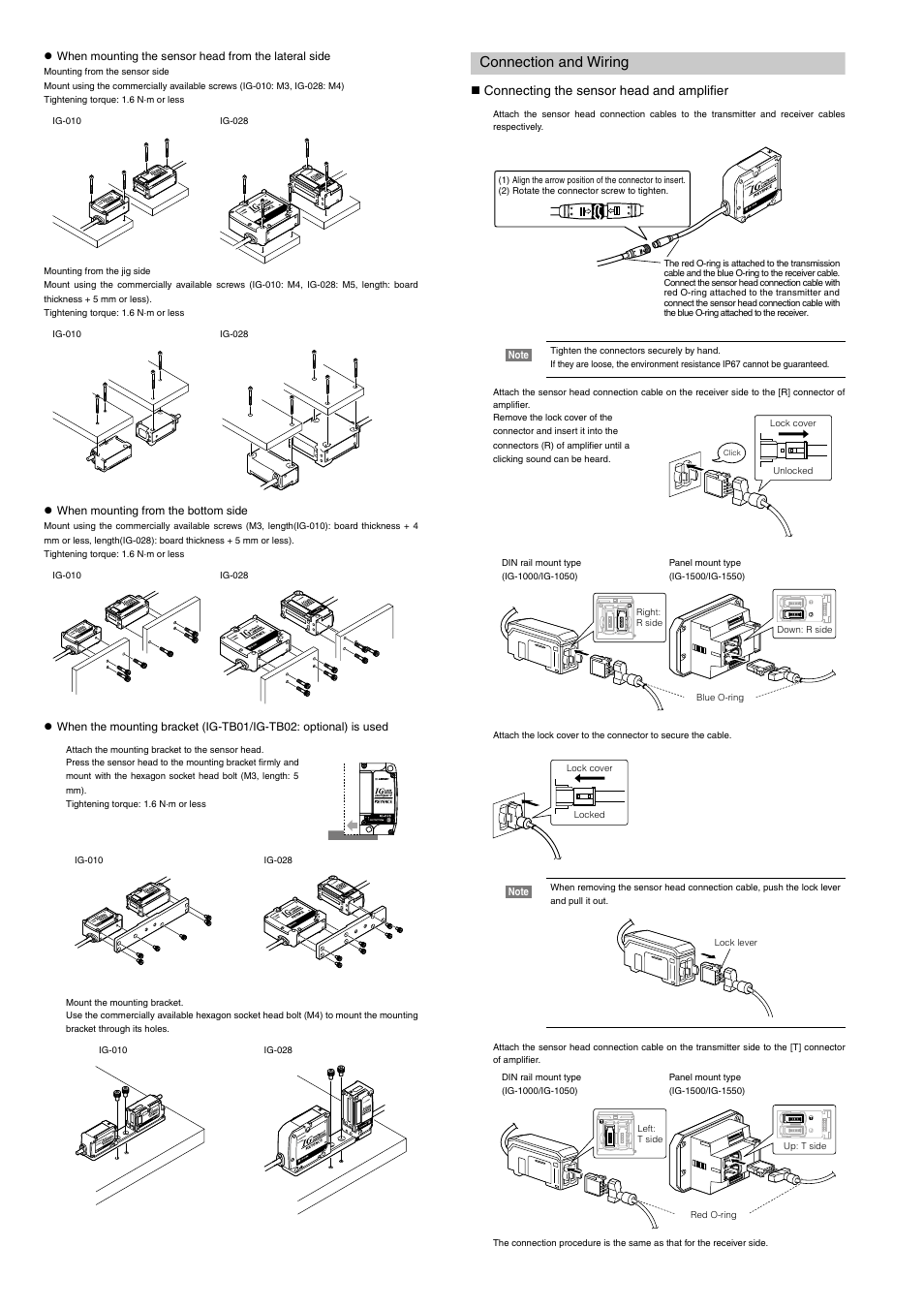 Connection And Wiring