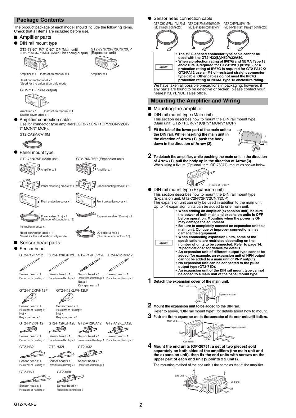keyence-gt2-70-series-page2  Din Wiring Diagram on