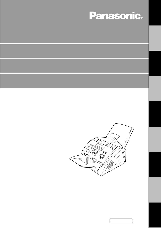 panasonic uf 490 user manual 121 pages rh manualsdir com Panafax UF- 8200 Panafax Senf Transmission Report