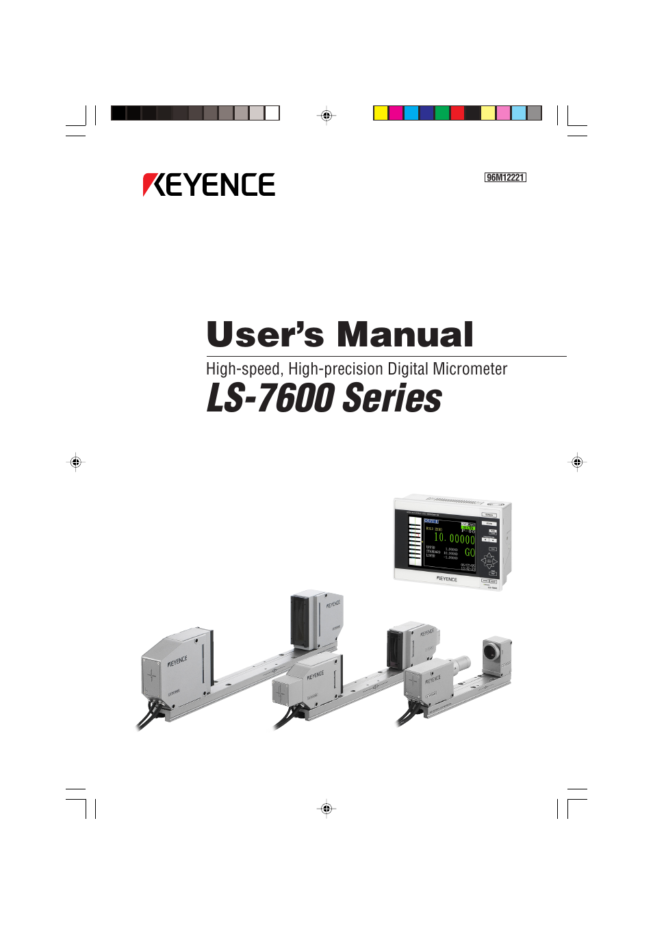 Keyence Ls 7600 User Manual 220 Pages
