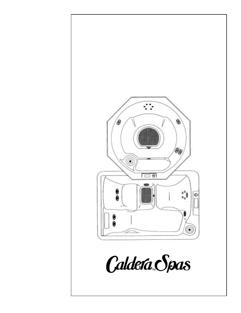 caldera highland series user manual