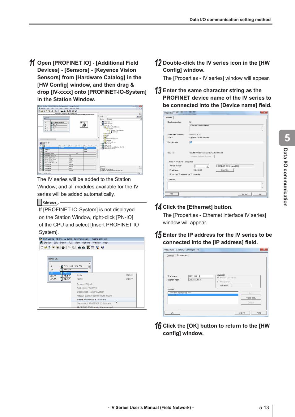 KEYENCE IV Series User Manual | Page 71 / 110 | Original mode