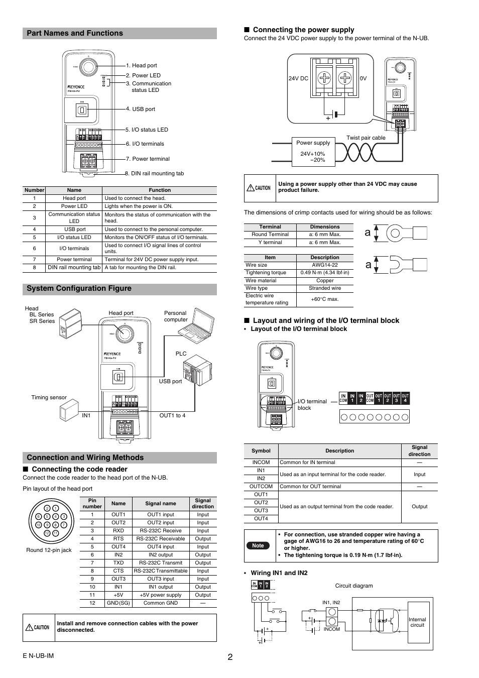 Part Names And Functions System Configuration Figure Connection Nikon D40 Usb Cable Schematic Wiring Methods Connecting The