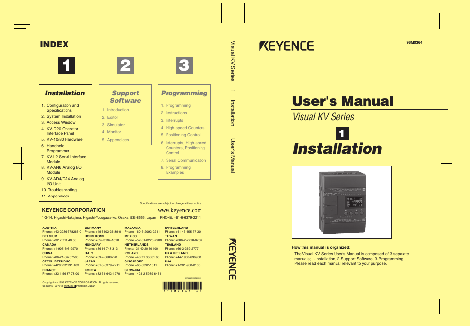 Keyence visual kv series user manual 444 pages asfbconference2016 Image collections