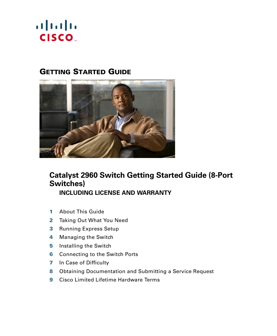 Cisco 2960 User Manual   22 pages