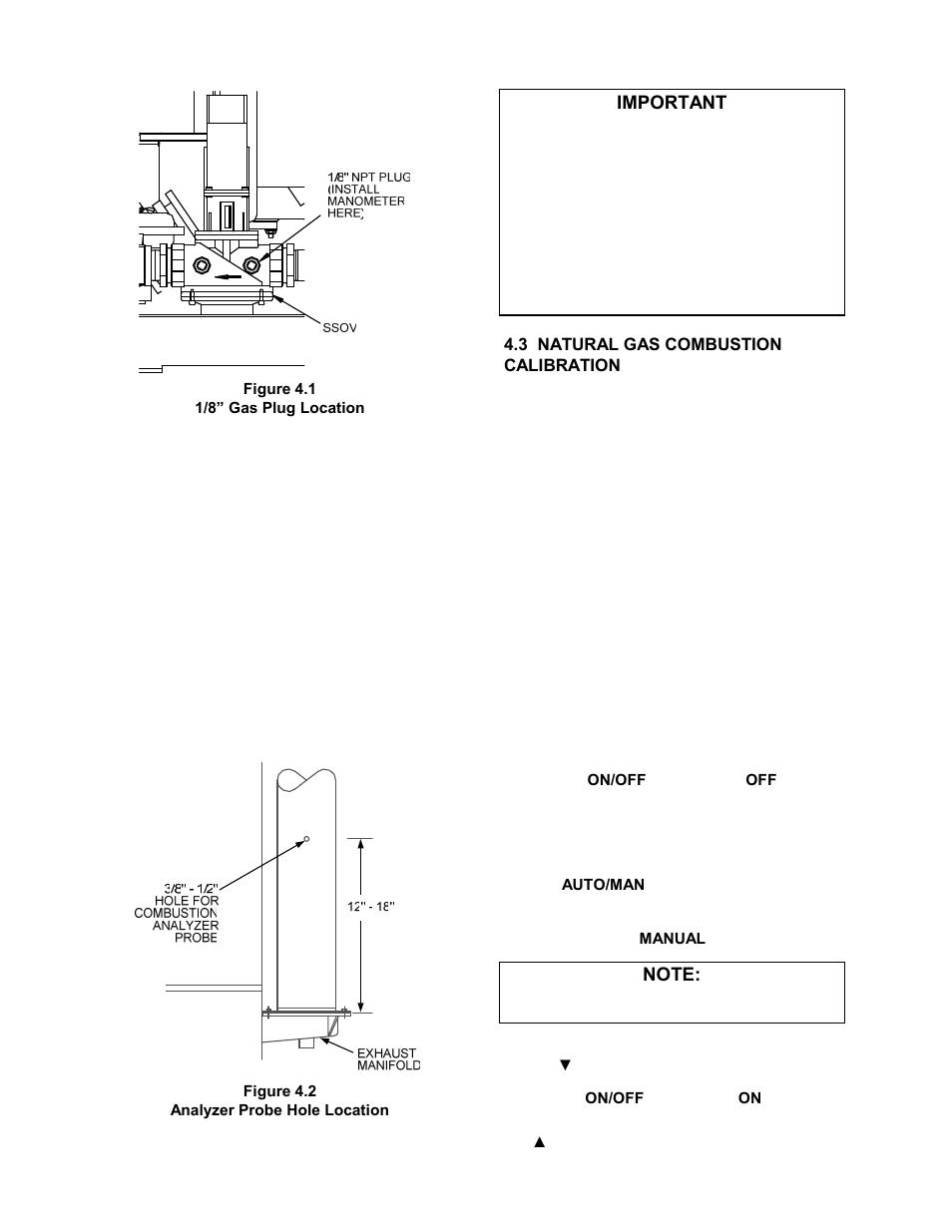 3 preparing the flue vent probe hole 3 combustion calibration rh manualsdir com