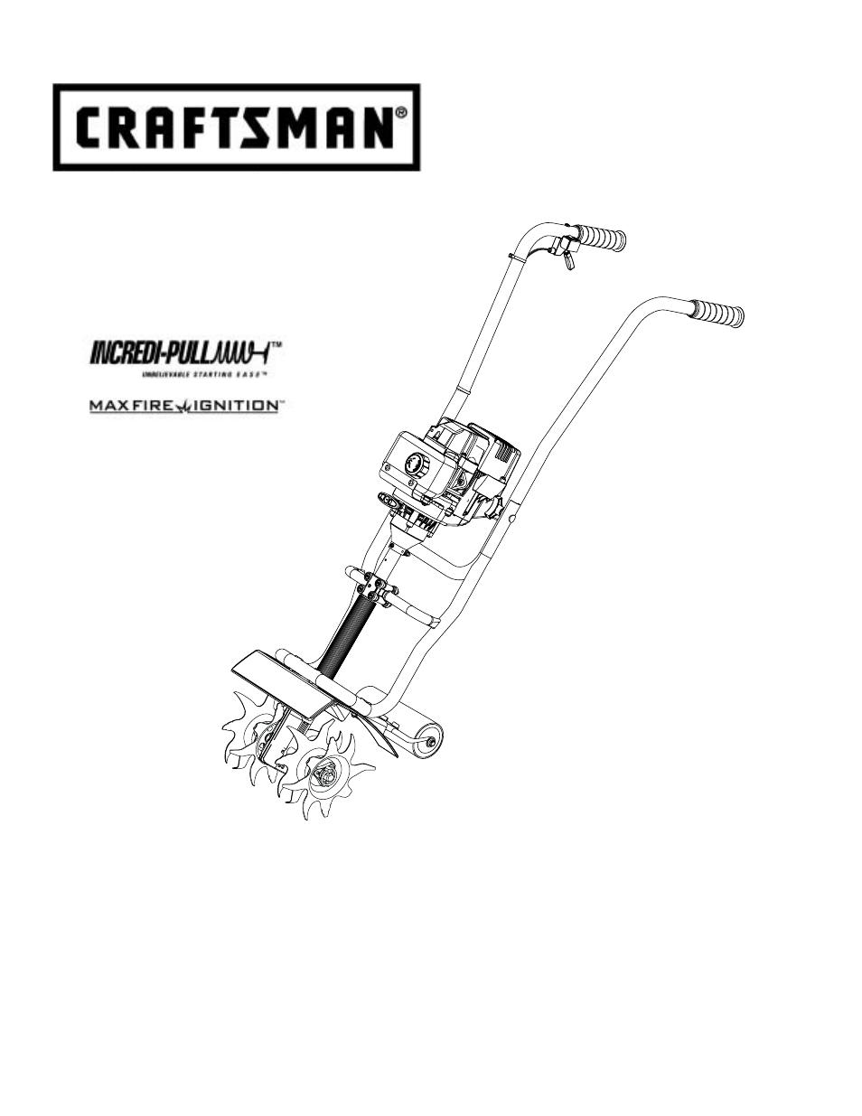 Craftsman 316 292561 User Manual