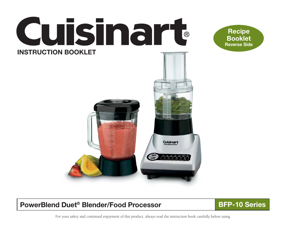 Cuisinart bfp 10 series user manual 33 pages also for cuisinart bfp 10 series user manual 33 pages also for powerblend duet blenderfood processor bfp 10 bfp 10ch forumfinder Image collections