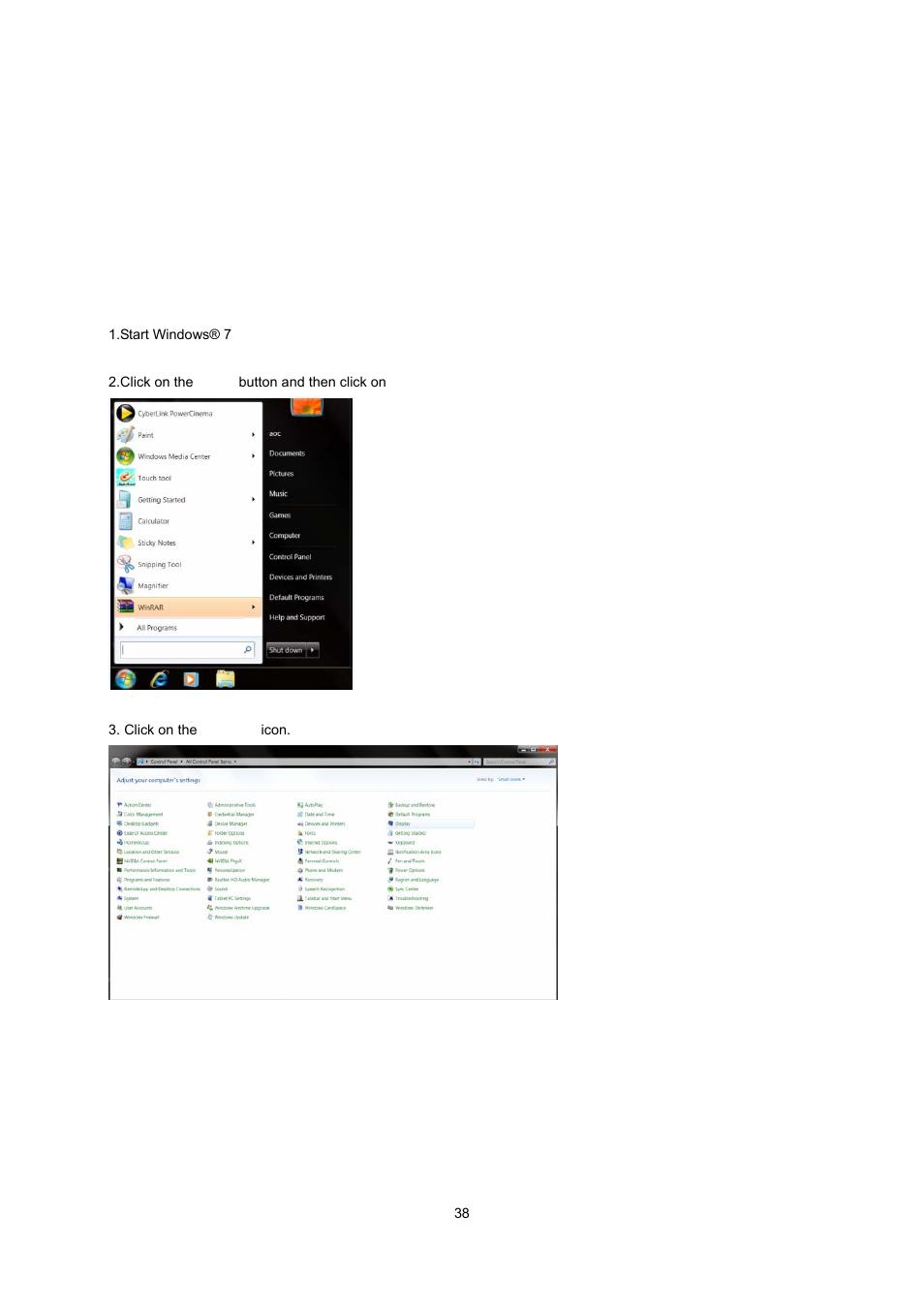 driver monitor driver windows 7 aoc e2343fk user manual page rh manualsdir com Instruction Manual Example Instruction Manual Example