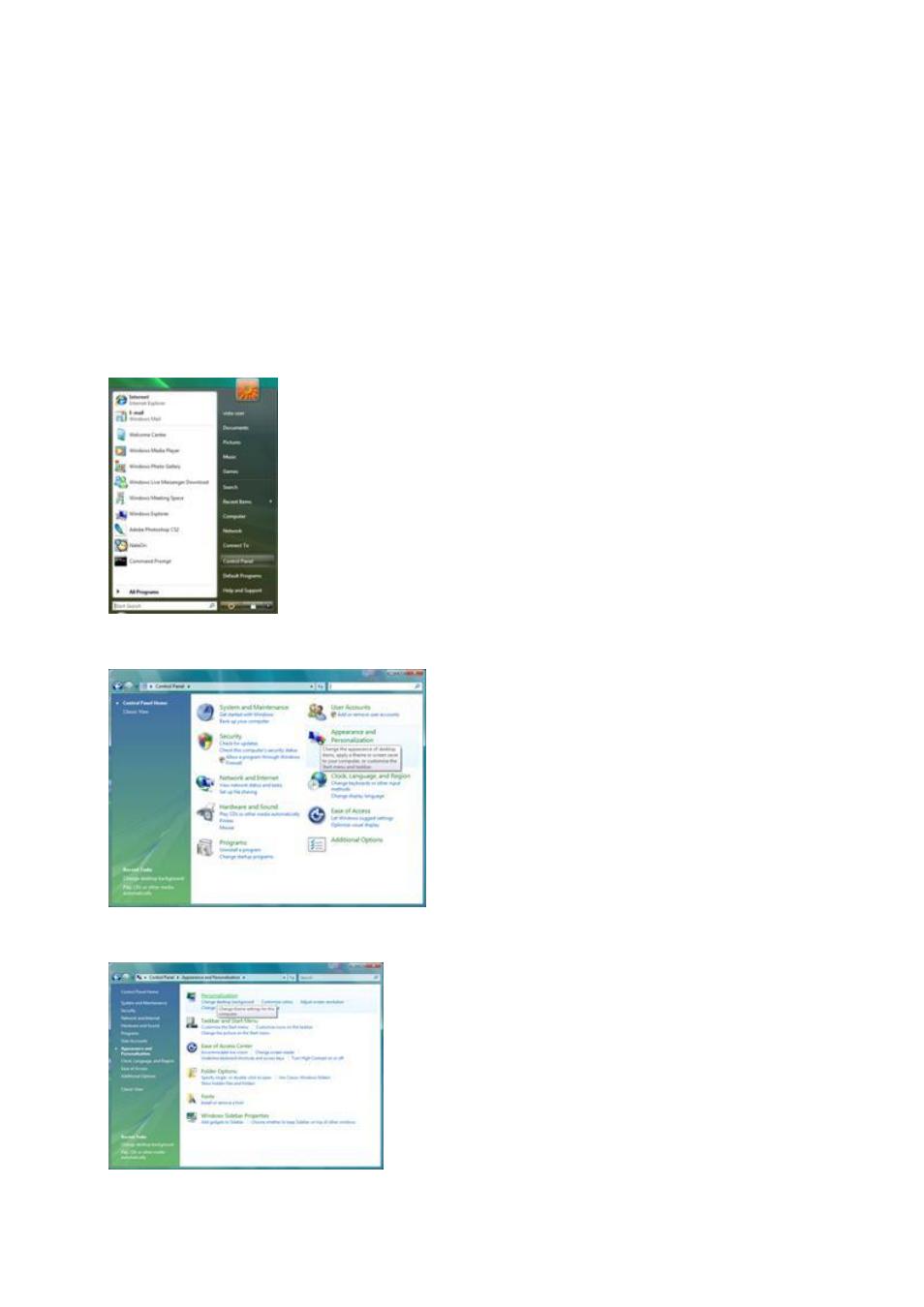 adjusting setting optimal resolution windows vista aoc 2436vh rh manualsdir com Owner's Manual Manuals in PDF