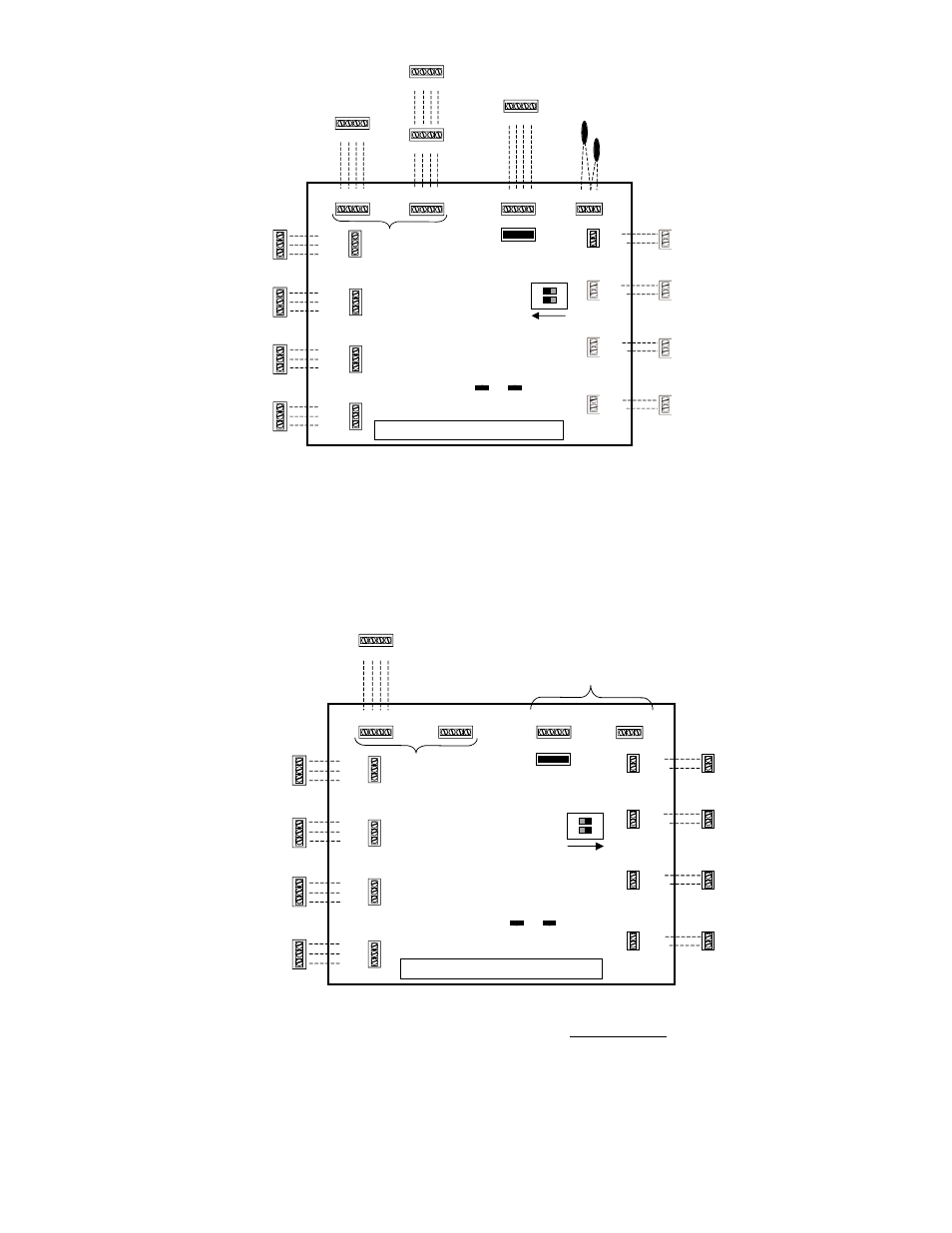 Zones 5 - 8  Zoning System Wiring Diagram  Zones 1