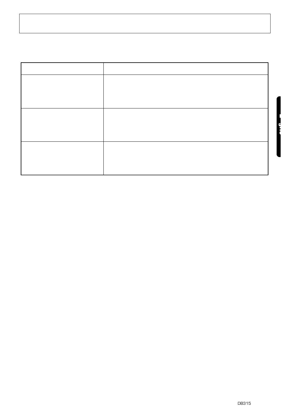 Error displays, Cd er2 cd er3 cd er6, 15 e glis | Clarion DB315 User ...
