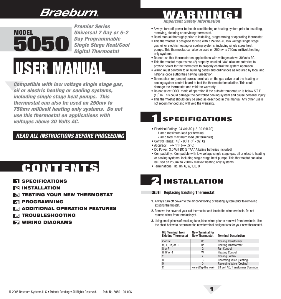 Generous Wiring Diagram For Pro 1aq Thermostatt Ideas - Electrical ...