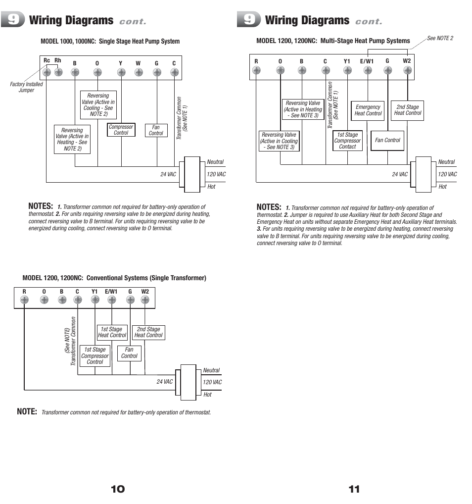Honeywell 8400 Thermostat Wiring Diagram Simple Wirings Trane Library