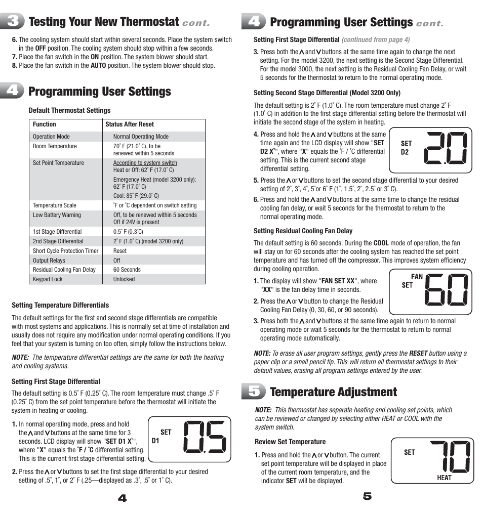 Pepco White Rodgers Thermostat Manual Wiring Diagram 1f80 261 Hotwire Hwth1 Manuals And User Guides