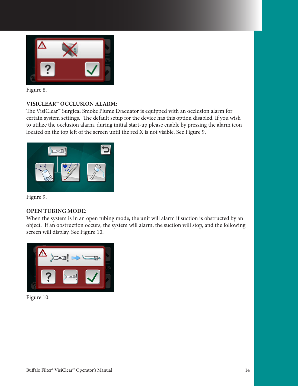 Buffalo Filter VisiClear User Manual   Page 14 / 30