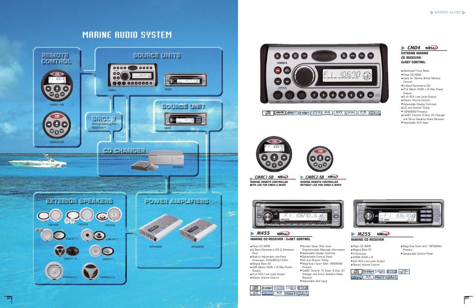 clarion marine m455 manual free owners manual u2022 rh wordworksbysea com Clarion Marine Amp Clarion Marine Radio Wiring Diagram