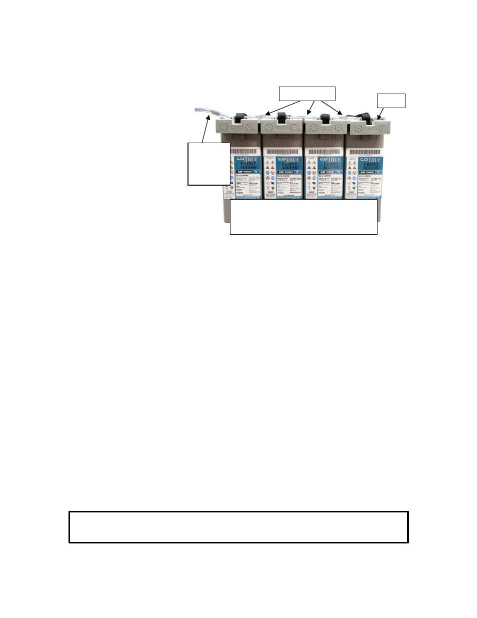 V Optional Gas Collection System Installation Vi Freshening 12 Volt 2 Battery Wiring Diagram Charge Vii Float