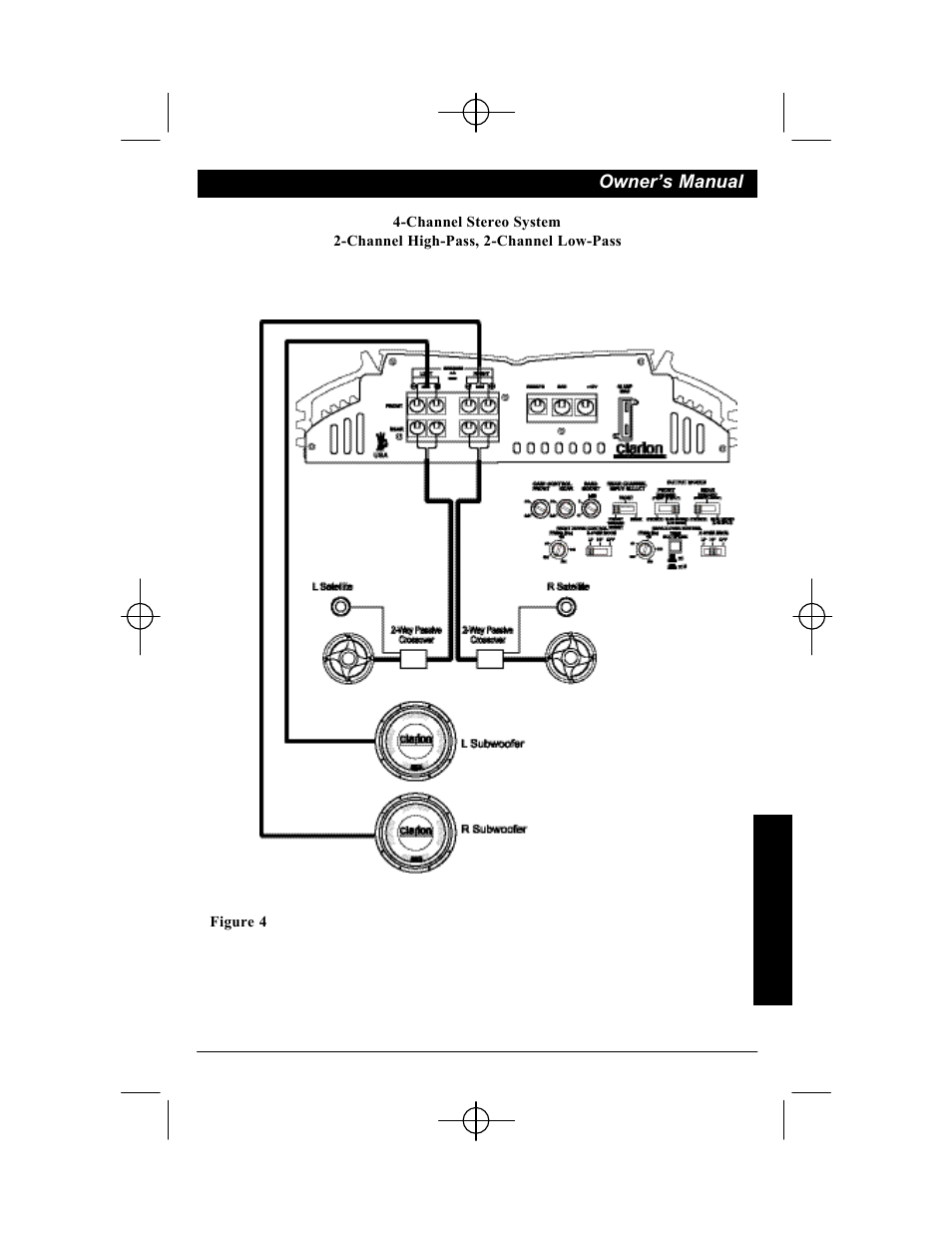 Clarion APX401 4 User Manual   Page 7 / 16