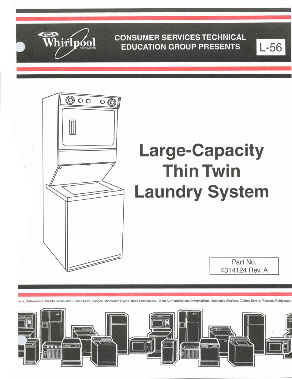 Whirlpool Thin Twin User Manual