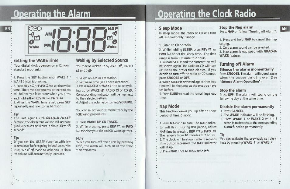 ililiu oderatinq the clock radio ge 1 jul user manual page 5 rh manualsdir com GE Undercounter Radio GE Clock Radio