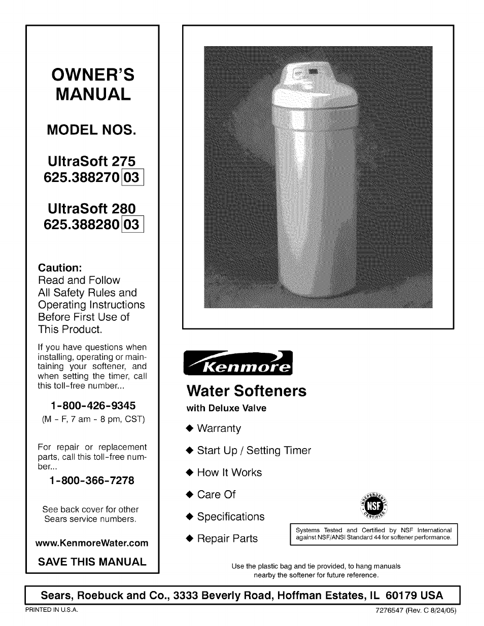 water softener wiring schematic kenmore ultrasoft 280 user manual 36 pages also for ultrasoft 275  kenmore ultrasoft 280 user manual 36