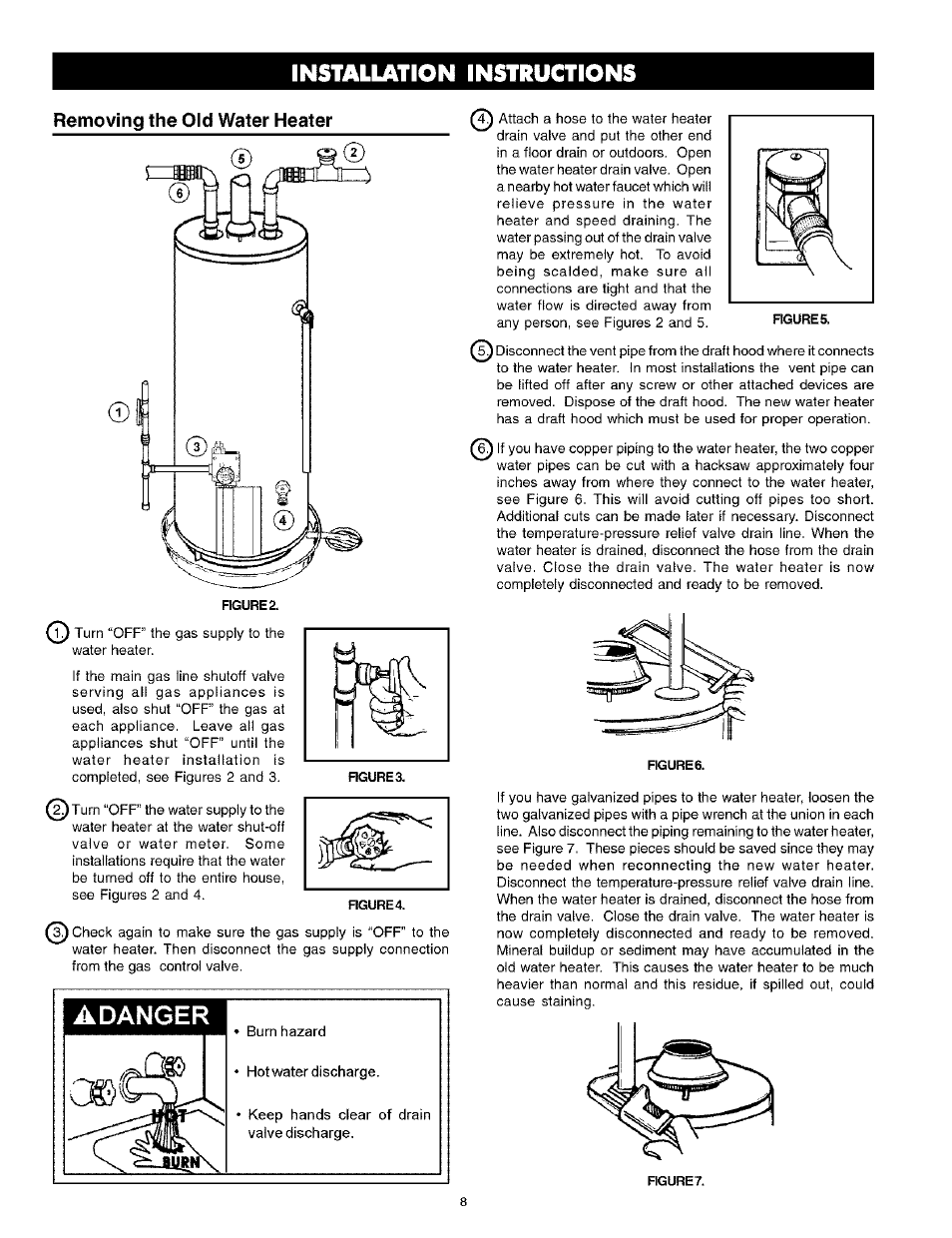 Gas Hot Water Heater Installation Instructions Mycoffeepot Org