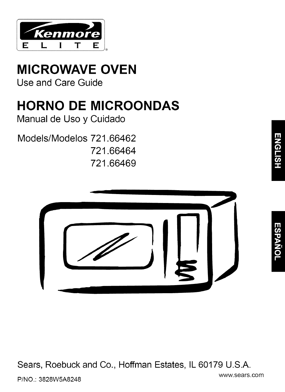 Kenmore 721 66464 User Manual 23 Pages Also For 66469 66462