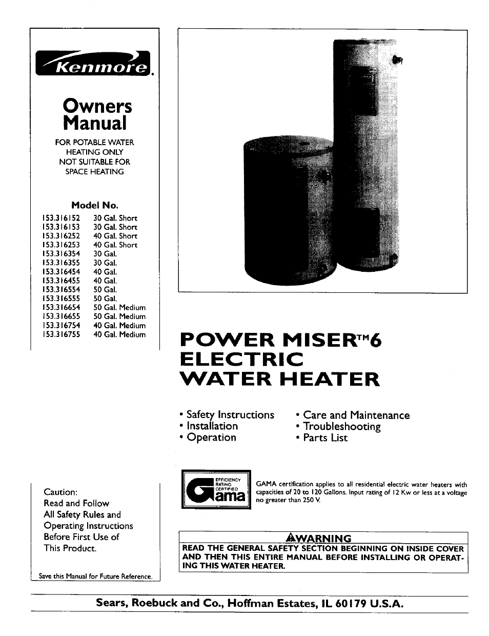 kenmore power miser 153 316555 user manual 32 pages also for  kenmore power miser 153 316555 user manual 32 pages also for power miser 153 316754, power miser 153 316354, power miser 153 316253,