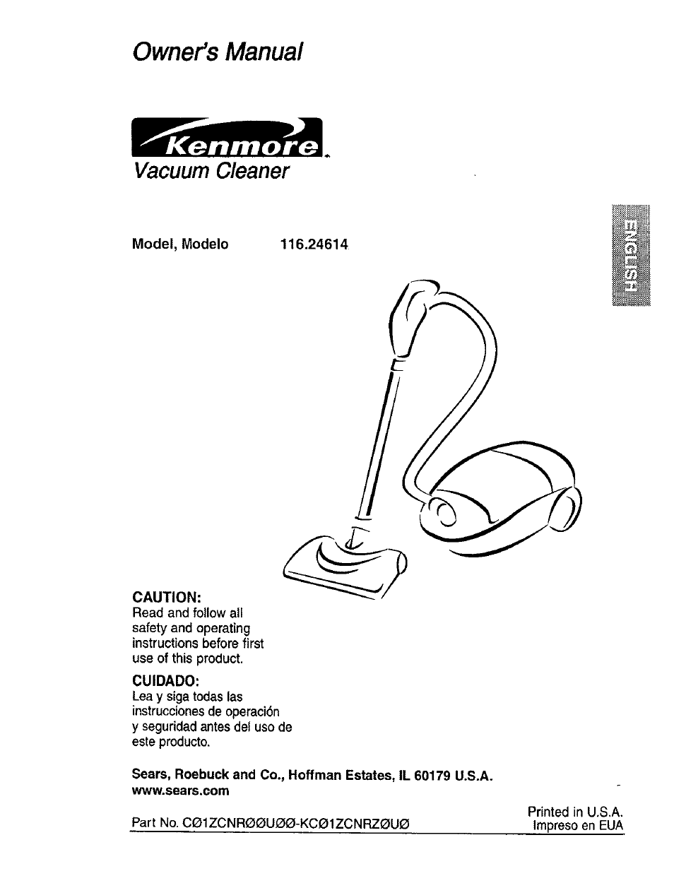 kenmore power mate 116 24614 user manual 21 pages rh manualsdir com Kenmore Power Mate Vacuum Kenmore Power Mate Cannister