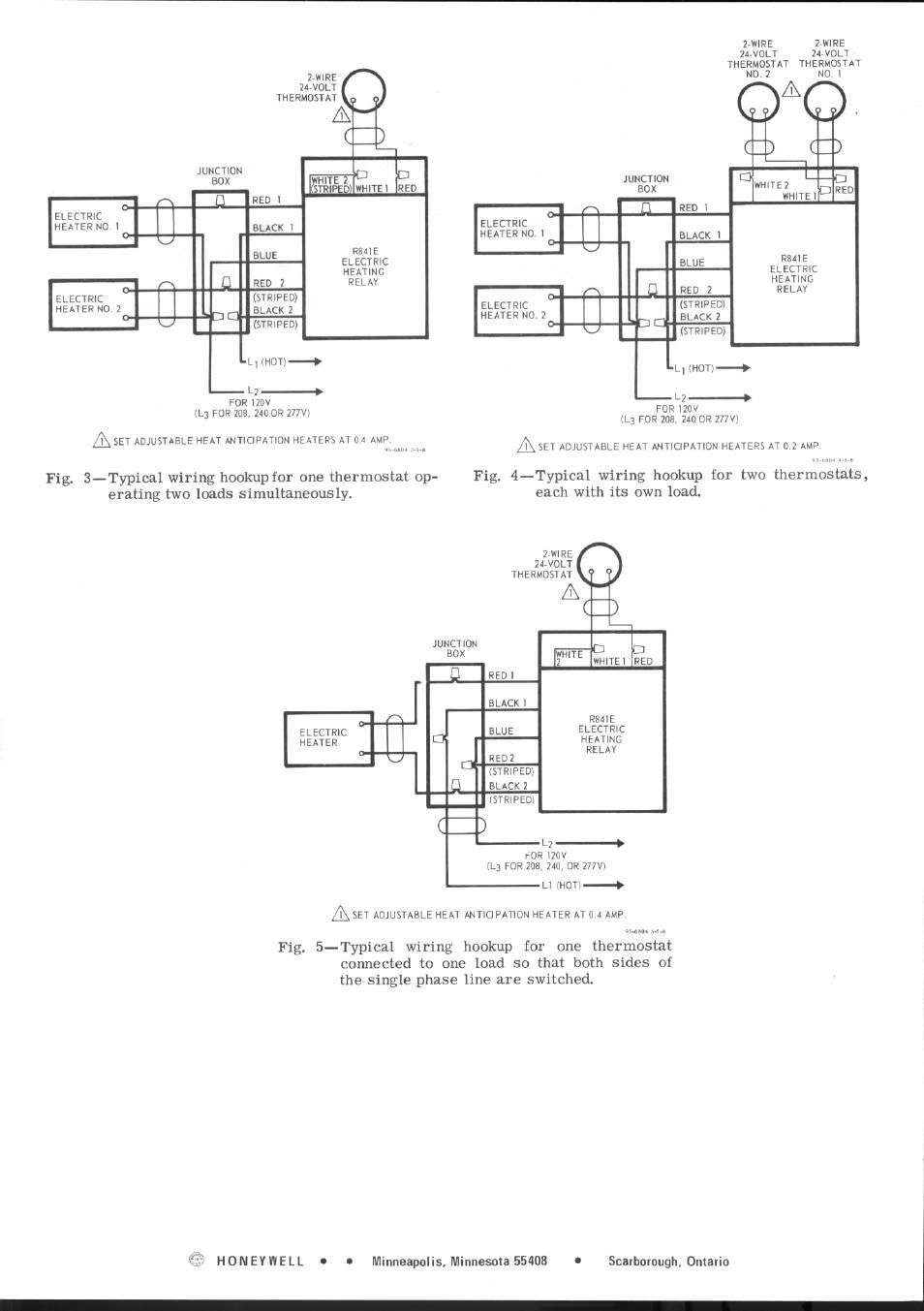 Honeywell R841e User Manual