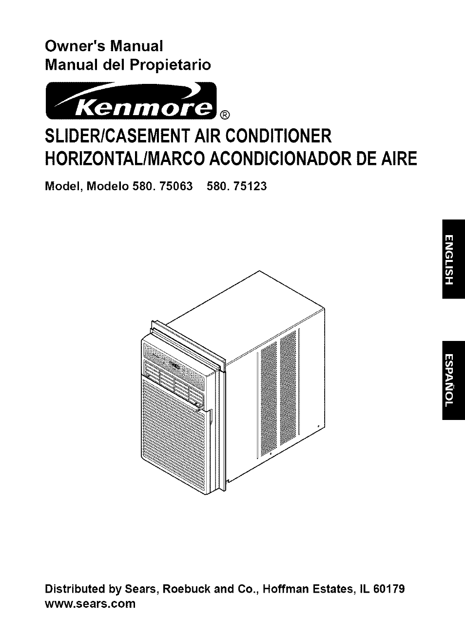 Kenmore 580. 75063 User Manual | 32 pages | Also for: 580.75123