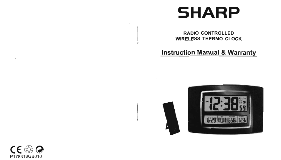 sharp atomic clock user manual