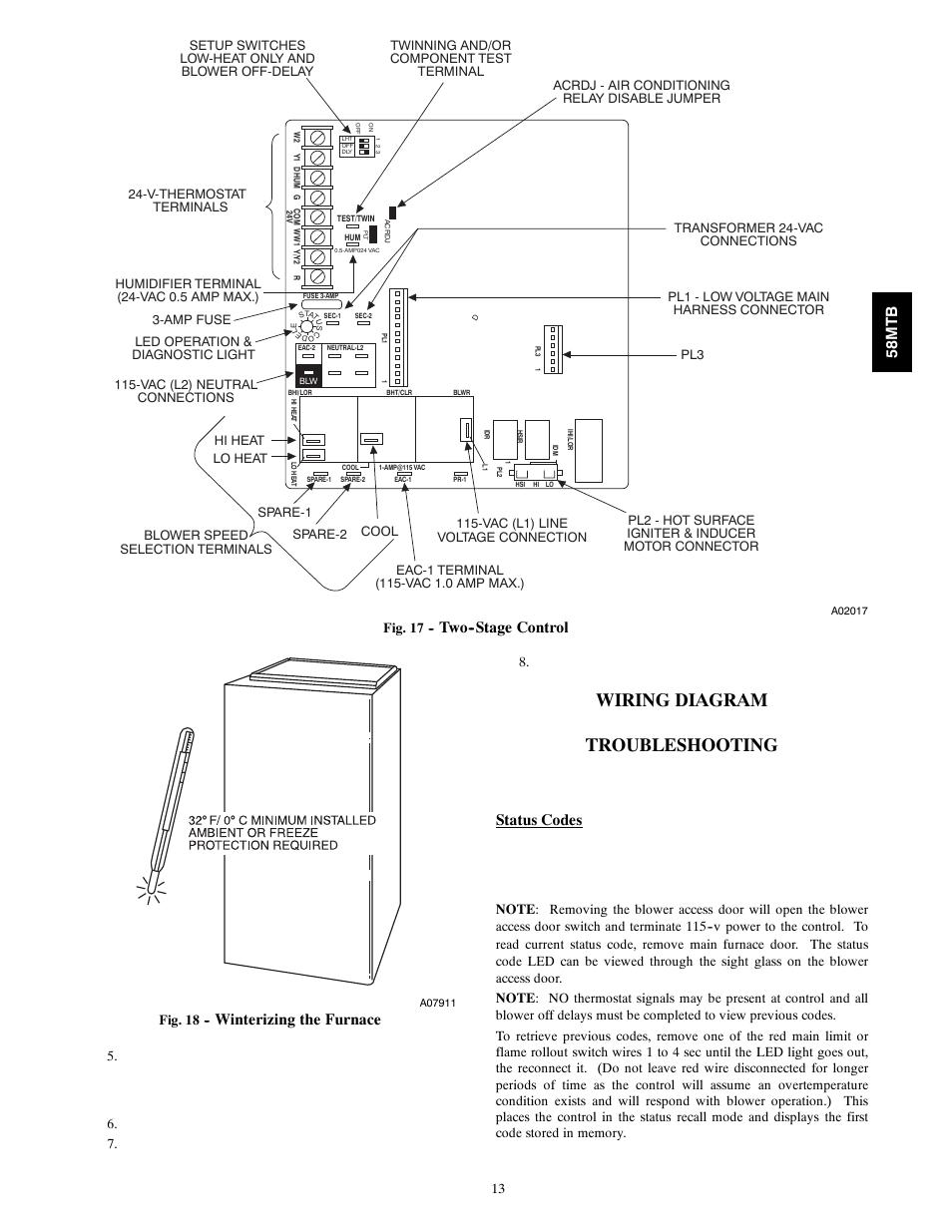 Furnace Wiring Diagram Control