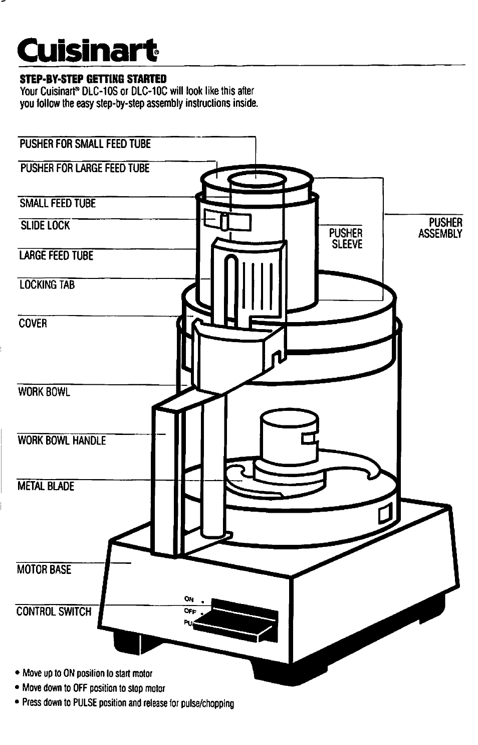 Cuisinart dlc-10c user manual | page 23 / 56 | also for: dlc-10s.