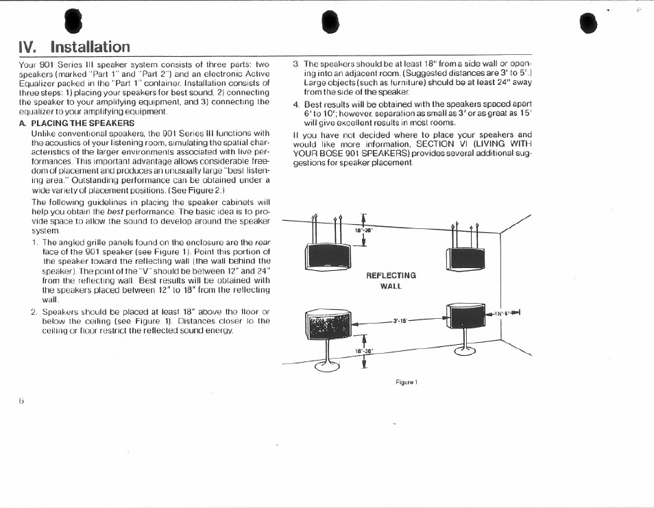 Iv Installation Bose 901 Series Iii User Manual Page 6 20