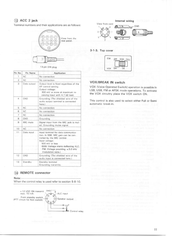 acc 2 jack internal wiring 1 3 top cover kenwood ts 440s user rh manualsdir com kenwood ts 440 manual service kenwood ts 440 manual service