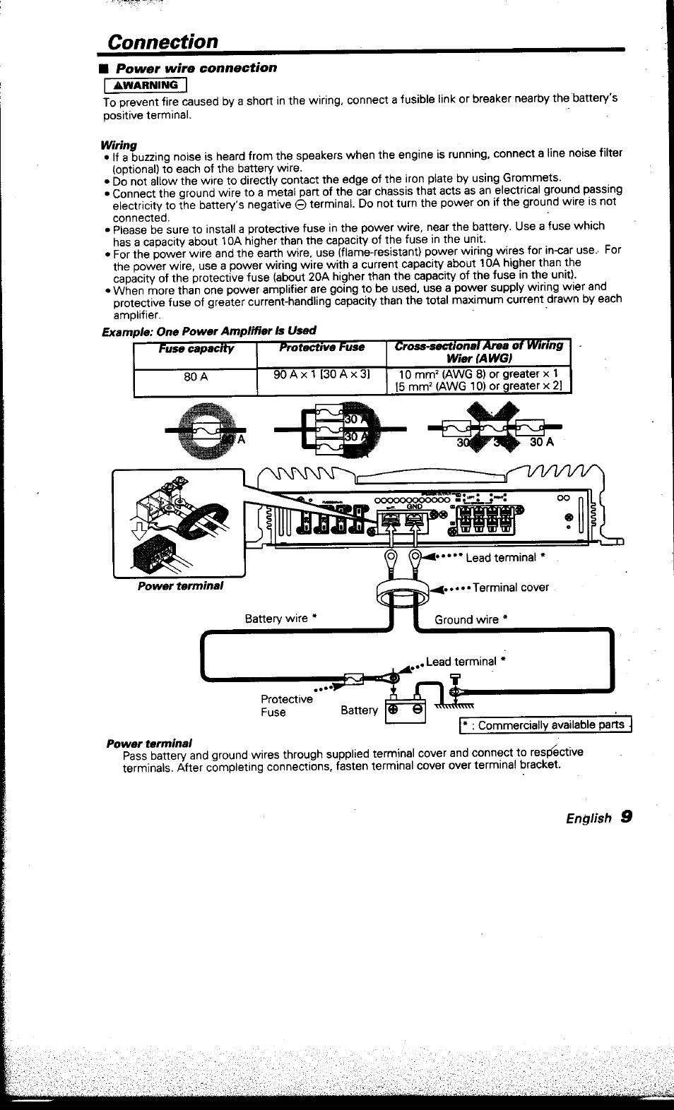 connection kenwood kac x501f user manual page 9 15 rh manualsdir com