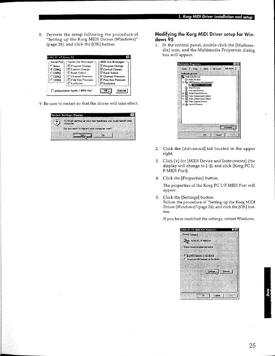 KORG Concert Korg Digital Piano C-150 User Manual | Page 25