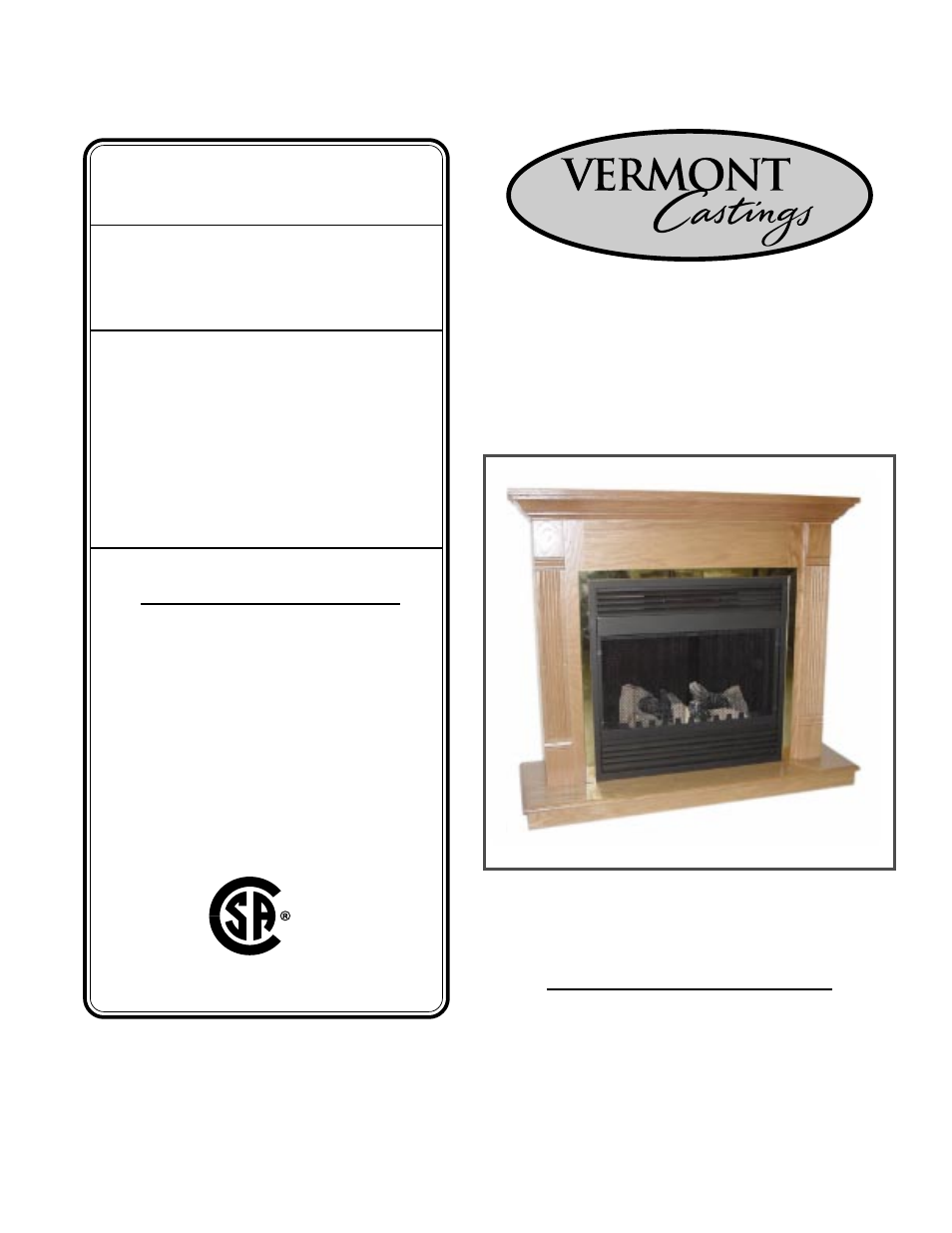 Vermont Casting DEFD26 User Manual | 11 pages | Also for: DEF