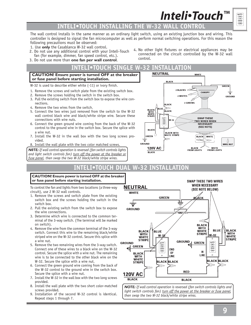 User U0026 39 S Manual Of Chapter Mainstays 3 Speed 4 Wire Ceiling